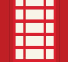 England Telephone Booth Sticker