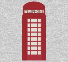 England Telephone Booth Kids Tee