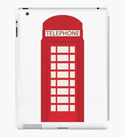 England Telephone Booth iPad Case/Skin