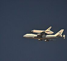 The Endeavour Space Shuttle by Sheryl Gerhard