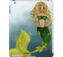 Golden Mermaid iPad Case/Skin