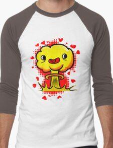 War Is Love Men's Baseball ¾ T-Shirt