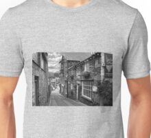 Slate Houses in the Lake District B&W Unisex T-Shirt