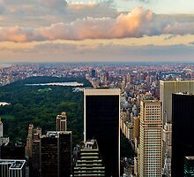 Central Park from the Top of the Rock by Mike Garner