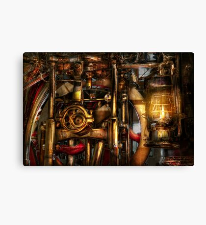 Steampunk - Mechanica  Canvas Print
