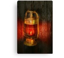 Steampunk - Red light district Canvas Print