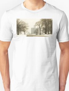 Winter View Of Detroit From Belle Isle Unisex T-Shirt