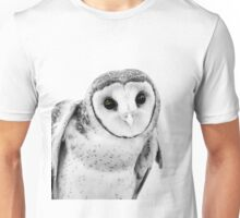 Owl Tiwi Masked Australian photograph Unisex T-Shirt