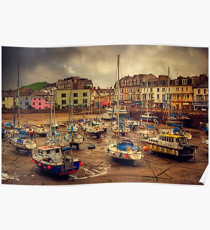 Ilfracombe Harbour Poster