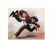 Bring Out Your Dead! BBC Sherlock Monty Python crossover Art Print