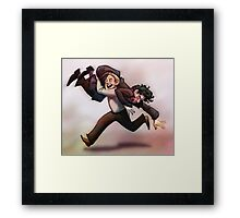 Bring Out Your Dead! BBC Sherlock Monty Python crossover Framed Print