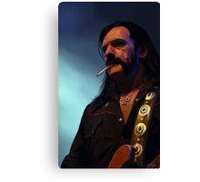 Lemmys is God Canvas Print