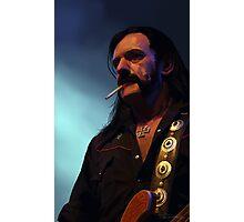 Lemmys is God Photographic Print