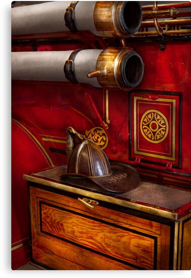 Firemen - An elegant job  by Mike  Savad