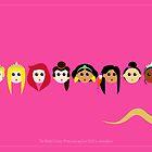 Disney Princesses by aureliescour