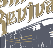 Railroad Revival contest entry - distressed Sticker