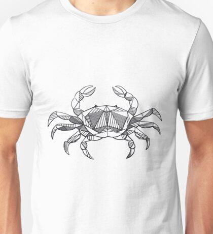 Geometric Cancer Crab Unisex T-Shirt