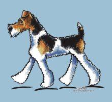 Wire Fox Terrier Trot Kids Tee