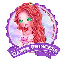 Gamer Princess Youtuber - Products Photographic Print