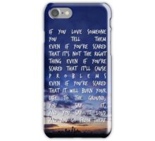 If You Love Someone iPhone Case/Skin