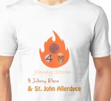 Johnny, Johnny and St John Unisex T-Shirt