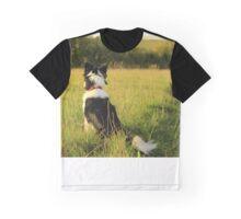 Collie Dog Graphic T-Shirt