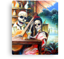 La Borracha Canvas Print