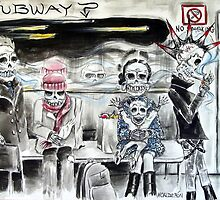 Subway by Heather Calderon