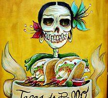 Tacos de Pollo by Heather Calderon