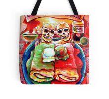 Dos Amigos, Dos Burritos,  Tote Bag