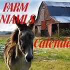 Farm Animals Calendar Cover by WildestArt