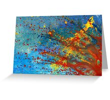 Abstract - Acrylic - Just another Monday Greeting Card