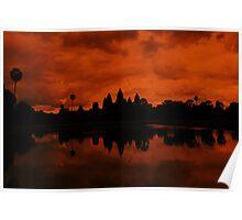 Ankor Wat Poster