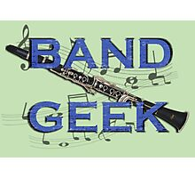Band Geek Photographic Print