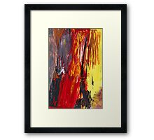 Abstract - Acrylic - Rising power Framed Print