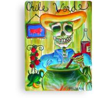 Chile Verde Canvas Print
