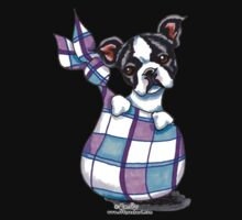 Boston Terrier Sack Puppy One Piece - Short Sleeve