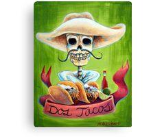 Dos Tacos Canvas Print