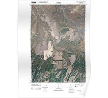 USGS Topo Map Washington State WA Kellogg Creek 20110404 TM Poster