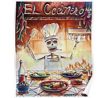 El Cocinero Poster