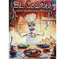 El Cocinero Photographic Print