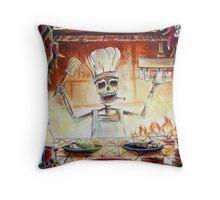 El Cocinero Throw Pillow
