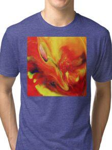 Vivid Abstract Vibrant Sensation II Tri-blend T-Shirt