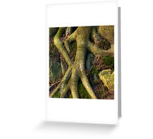 Roots of Life Greeting Card