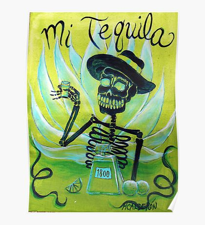 Mi Tequila Poster