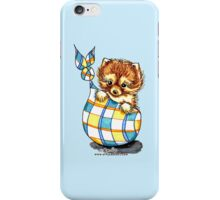Pomeranian Sack Puppy iPhone Case/Skin