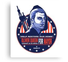Queen for Mayor Canvas Print