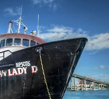 """""""Lady D"""" docked at Potter's Cay in Nassau, The Bahamas by Jeremy Lavender Photography"""