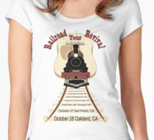 Railroad Revival Women's Fitted Scoop T-Shirt