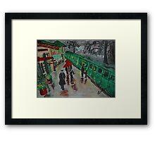 The Station Master Framed Print